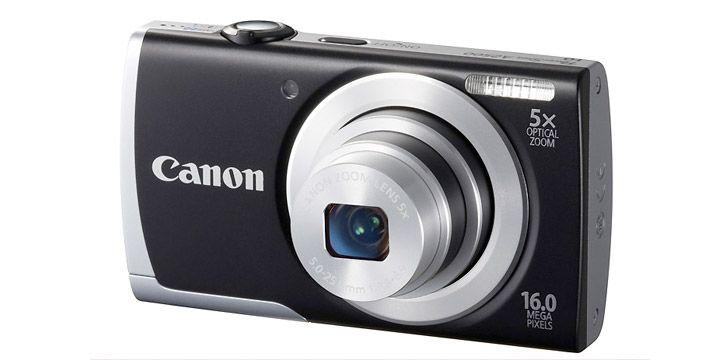 Cámara compacta Canon PowerShot A2500. EN STOCK. 139.95€. #ofertas #descuentos #ahorro #tecnologia #camaras_compactas #camaras_digitales