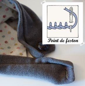 Patron bonnet lutin à faire d'urgence !: Child Sewing