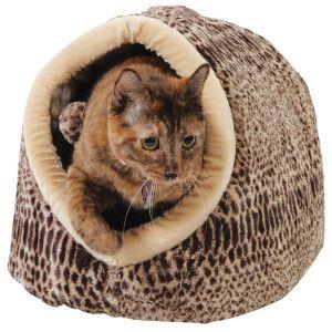 Warm & cozy in the cat cuddler PetSmart 26.99 The Cat