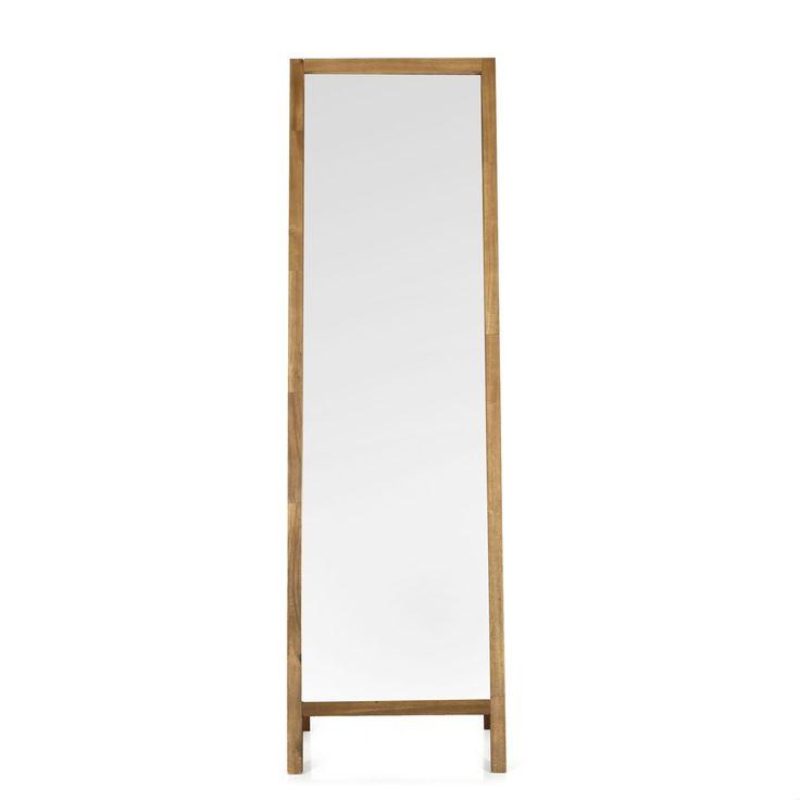 Miroir de chambre sur pied ma chambre cosy parfaite miroir plein pied pour parfaire sa tenue - Gifi miroir sur pied ...