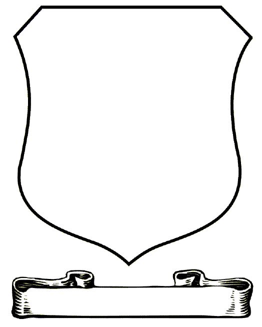 Blank Family Crest Template - Cliparts.co