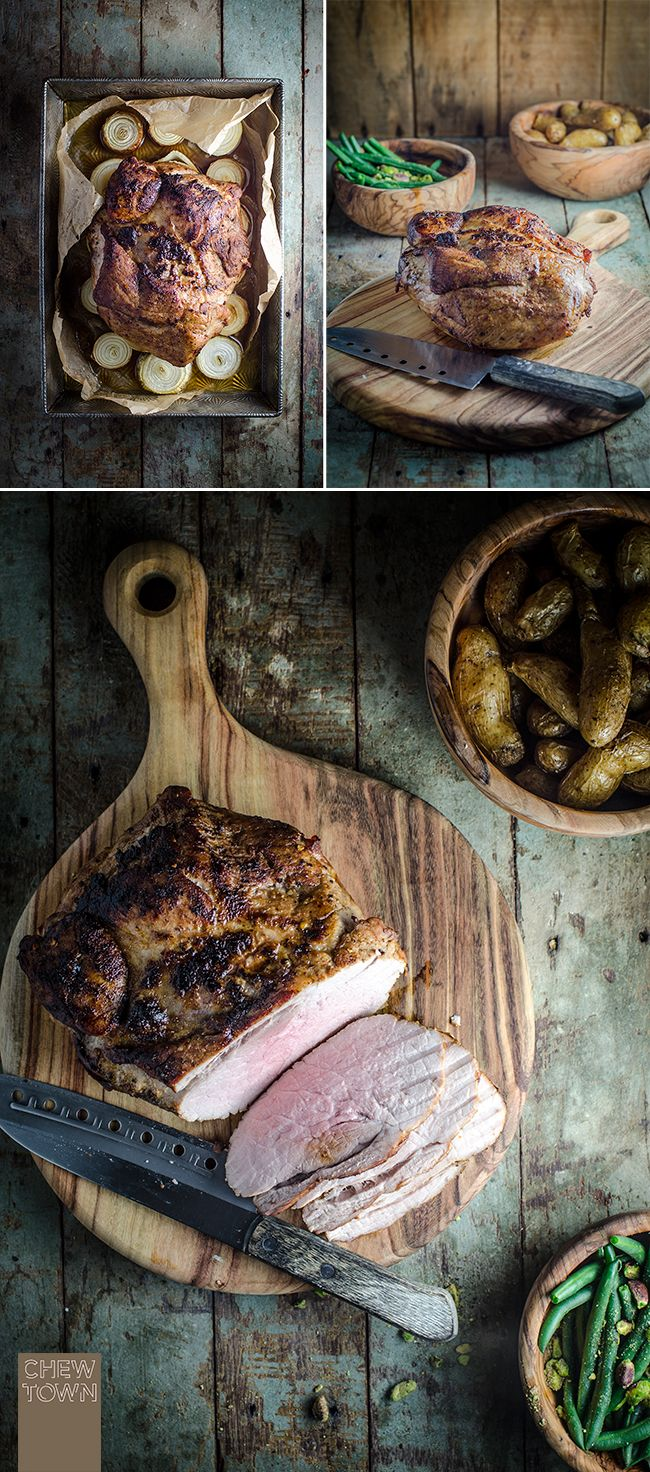 Maple Sugar and Spice Rubbed Roast Pork | Chew Town Food Blog