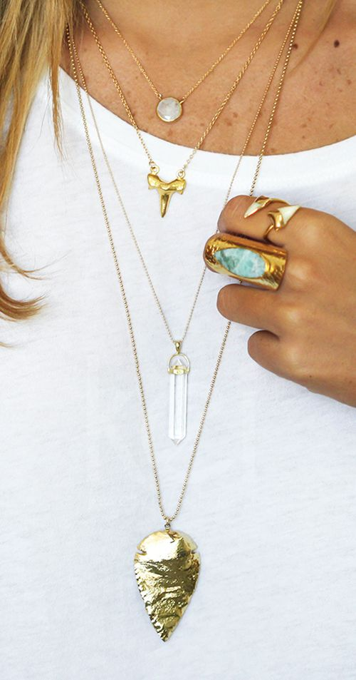 all layered up! | kei jewelry