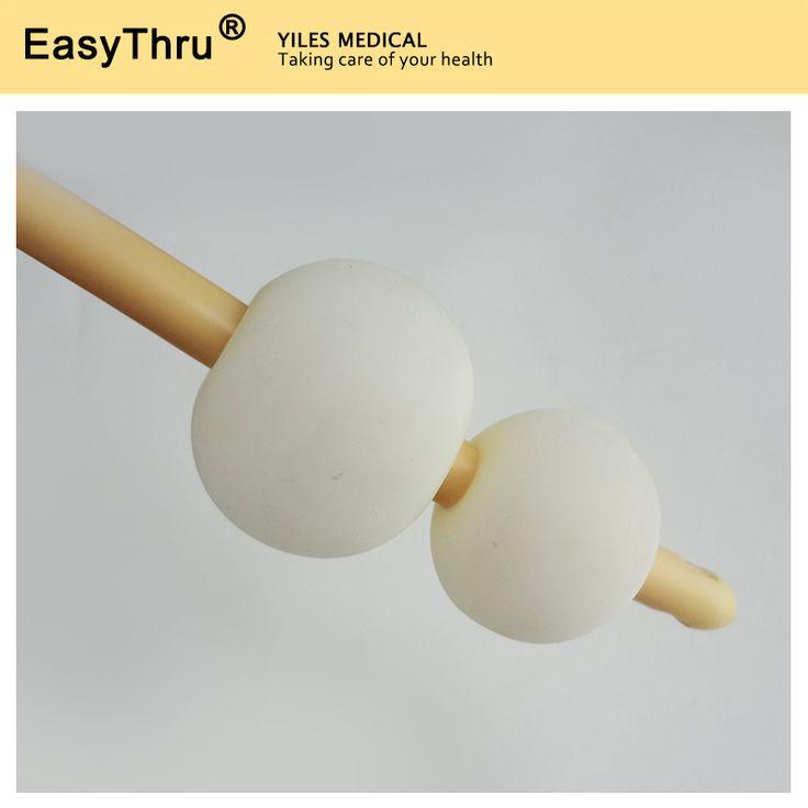 3 way double balloon latex foley catheter silicone coated, size Fr26, balloon size 30ml + 50ml, sterilized, urethral catheter