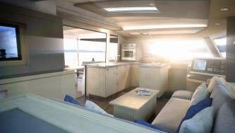 New 42 Fountaine Pajot sailing catamaran  - saloon