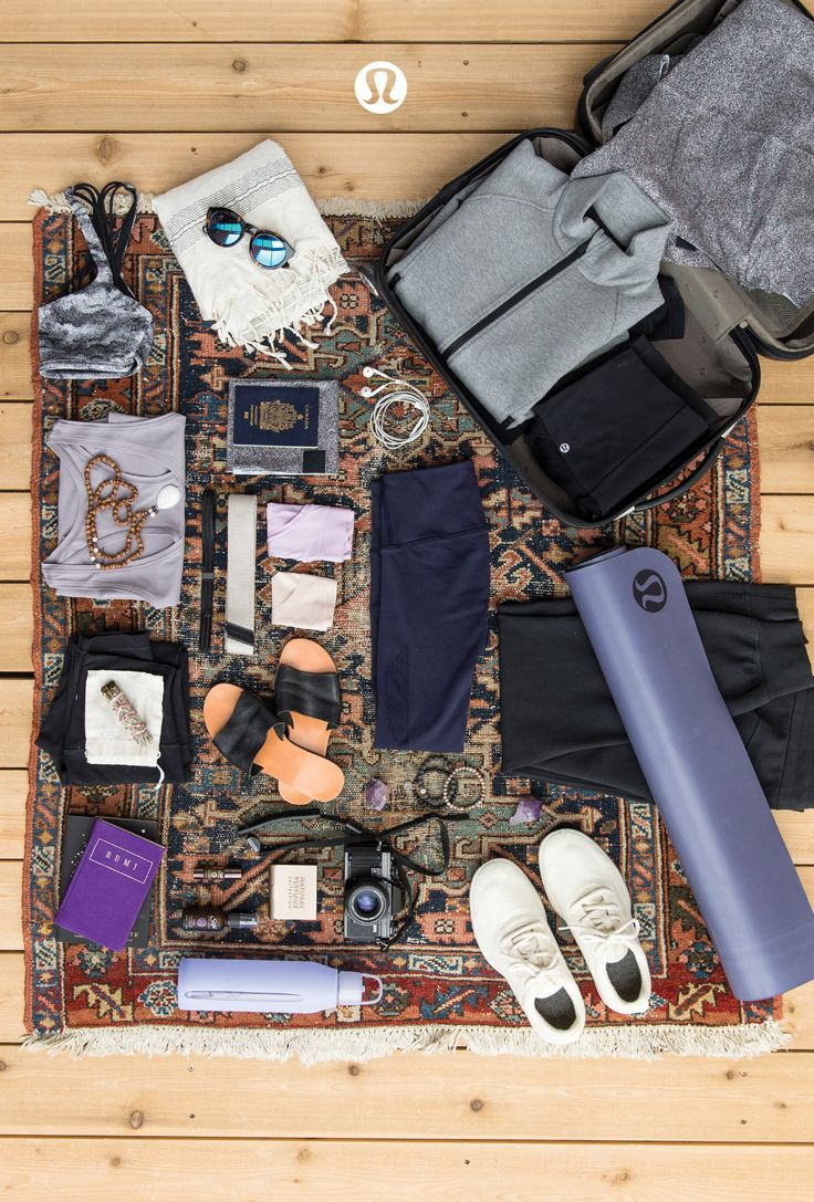 Whether you're escaping to the studio or a tropical yoga retreat, these lululemon essentials have your back.
