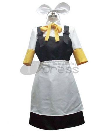 Vocaloid Kagamine Rin Cosplay Costume, Make you the same as Kagamine Rin in this Vocaloid cosplay costume for cosplay show.
