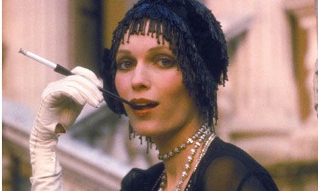 1974's film The Great Gatsby starring Mia Farrow playing Daisy Buchanan.