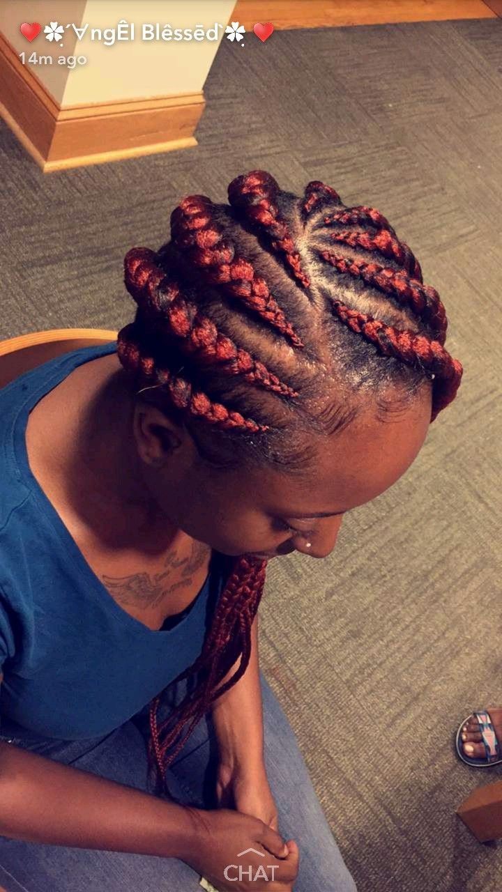 best box braid styles images on pinterest protective hairstyles