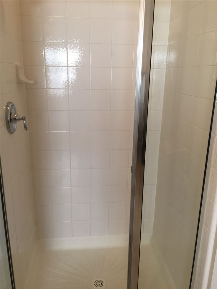 Steam Cleaning your shower!  It gets shiny and takes away the scum!