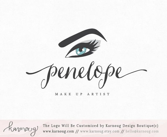 Makeup Artist Logo Brow Artist Logo Lash Logo Premade Logo Watermark Logo Business Logo Branding Logo Custom Logo Logos and Watermarks