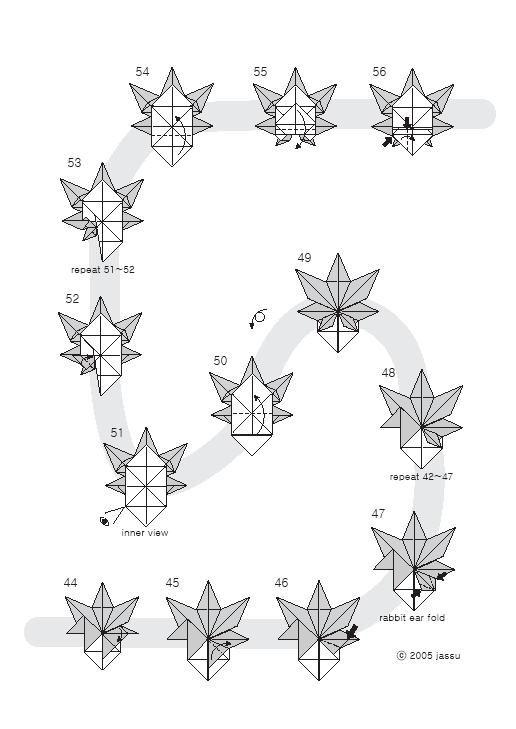 origami leaf 4