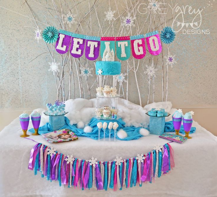 GreyGrey Designs: Giveaway! Frozen Birthday Party Pack for 8 with Birthday Express