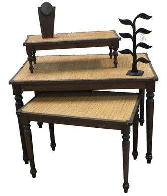 Tables at Barr Display