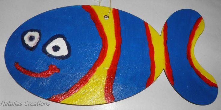 Ξύλινο ψαράκι