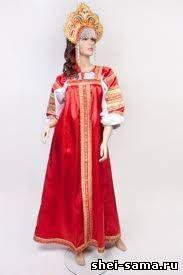Как сшить русский народный сарафан - Россия - Национальная одежда - Всё о шитье - Шей сама
