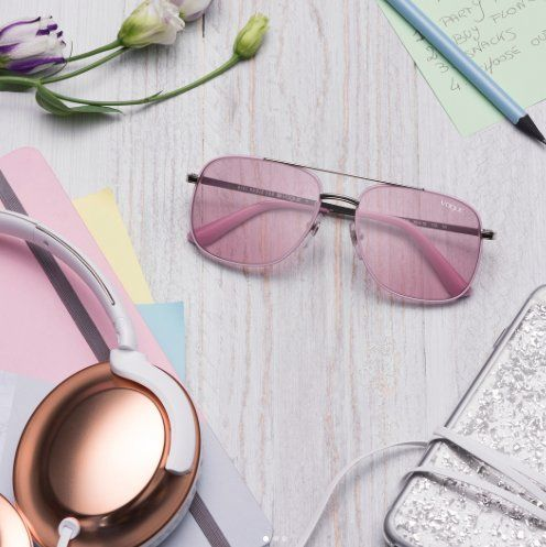 Sunny with a definite chance of stye! Add some glamour to your look with #VogueEyewear from #Sunglasshut. #PromenadeCC #StylishShades