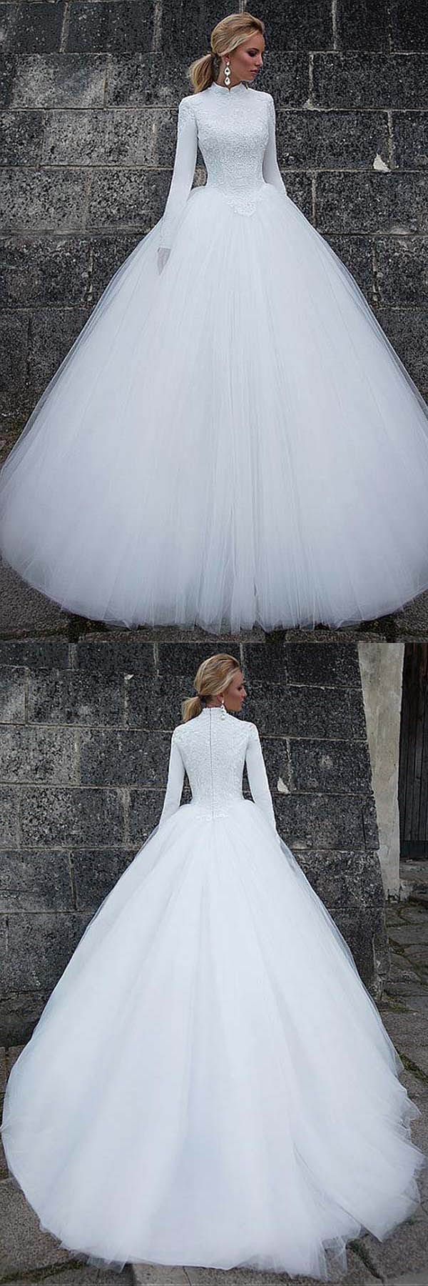 #weddingdress #weddings #dress #ballgown #satin #2018wedding
