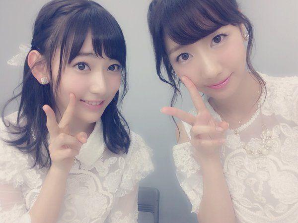 Sakura & Yukirin #AKB48 #HKT48 #NGT48