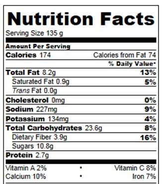 Baked Oatmeal Weight Watchers Points Plus: 4 points The baked oatmeal nutrition information above DOES include the oil and was …