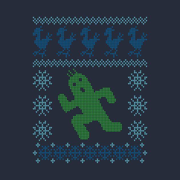 Christmas Cactus Sweater Christmas Xmas Christmassweater