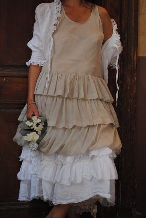 Lovely linen & lace.