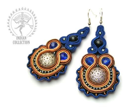 Sutasz-Anka: Padma earrings http://www.soutage.com/2013/02/padma-kolczyki.html#more