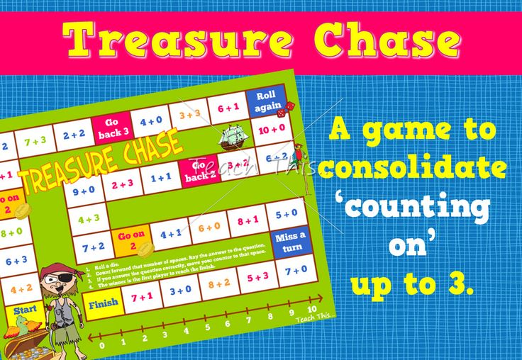 Treasure Chase – Counting on