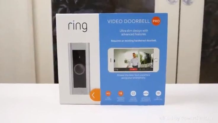 Ring Video Doorbell Pro Existing Doorbell Wiring Required, Works with Am...