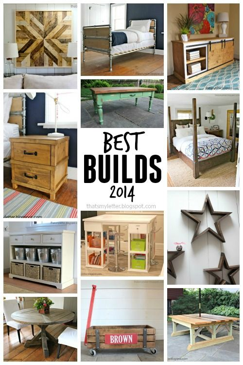 That's My Letter: best DIY furniture builds for 2014 with free plans