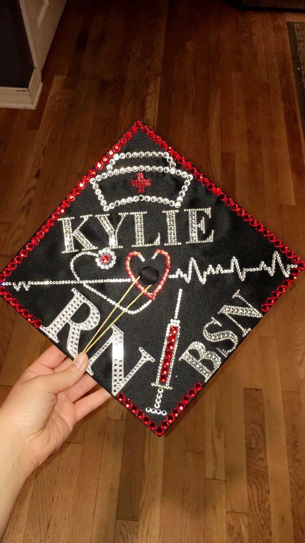 Nursing graduation cap