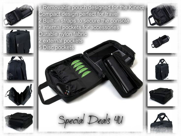 Xbox Case Bag Carrying Case One Travel Game Controller Storage Multi Fuction New #XboxCaseBag