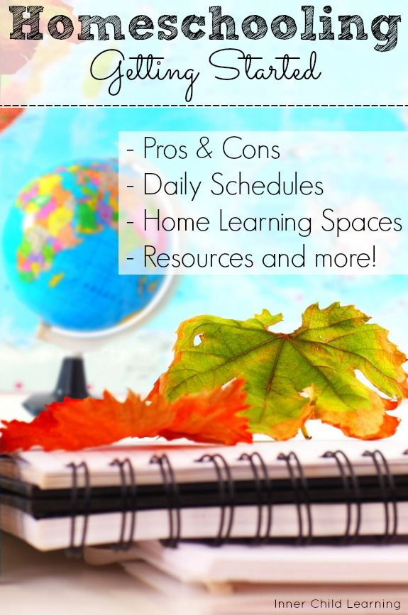 Resources and tips for getting started with homeschooling.
