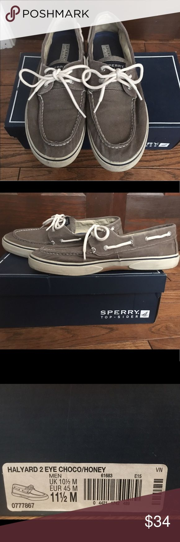 Men's Sperry Topsider Grey/blue men's Sperry's 👞👞                                            Hardly worn! No stains, tears, weird smells, etc.                            Smoke-free household 🚭  Freaky fast shipping!! 💌       Make me an offer 💸 I 💜OFFERS! Sperry Top-Sider Shoes Loafers & Slip-Ons