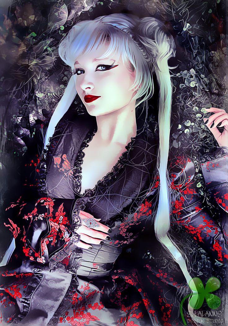Strong Enough #ellalanne #ellalannedesignstudio #digitalart #digitalpainting #artwork #artist #designer #creative #photomanipulation #japanesse #kimono
