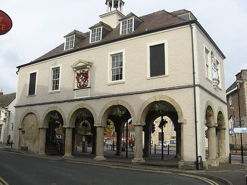 Market house in Dursley, Gloucestershire