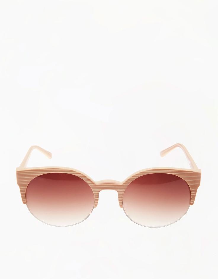 Wood effect glasses