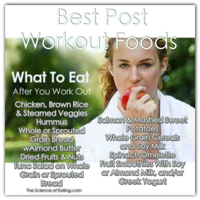 Foods Best Post Workout