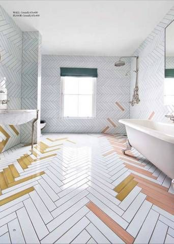 25 tile floors to pin if you're remodeling