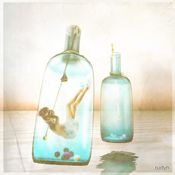 Traveling in the bottle