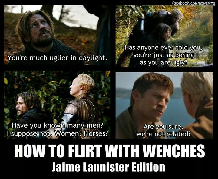 Jaime Lannister: Kingslayer and smooth talker
