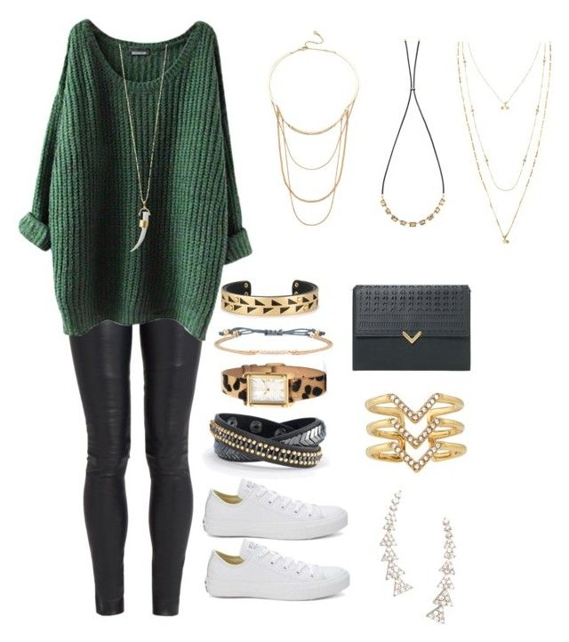 """""""Untitled #2"""" by audo-mallory on Polyvore featuring The Row, Converse and Stella & Dot"""
