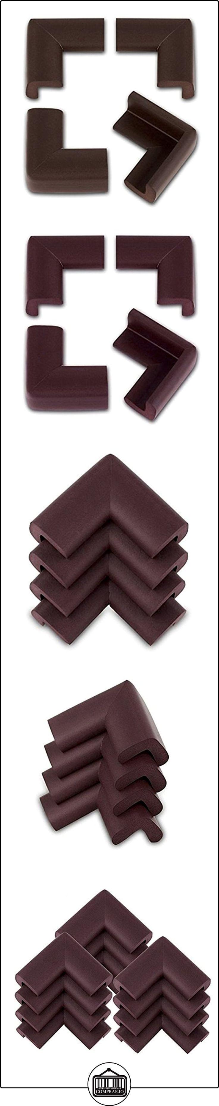 PIXNOR 12x mesa de seguridad Esquina cushions-desk protector-safe marrón para bebés niño  ✿ Seguridad para tu bebé - (Protege a tus hijos) ✿ ▬► Ver oferta: http://comprar.io/goto/B019C0JD2E