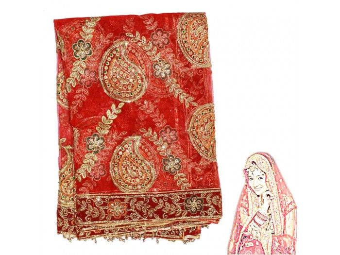 Queen Wedding Chunri, Buy Queen Chunri online from India.