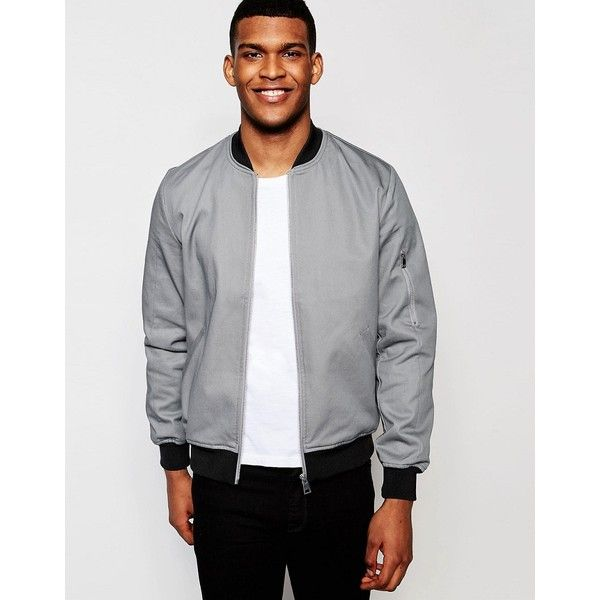 The 25  best Grey leather jacket mens ideas on Pinterest
