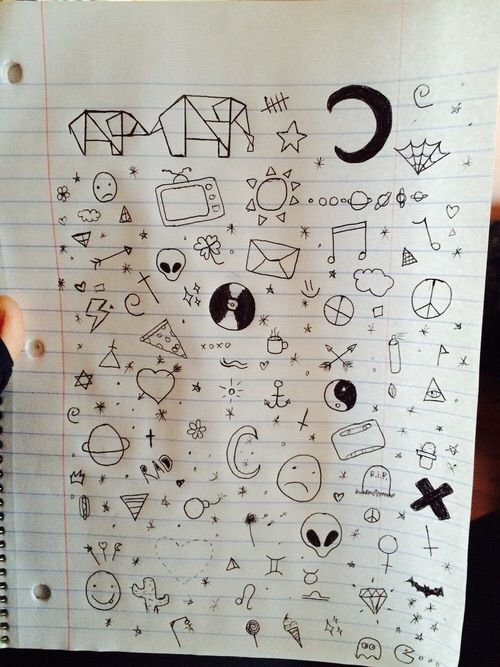 Image via We Heart It #boring #drawing