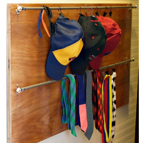 Best 25 organize hats ideas on pinterest wooden crates for Best way to organize baseball hats