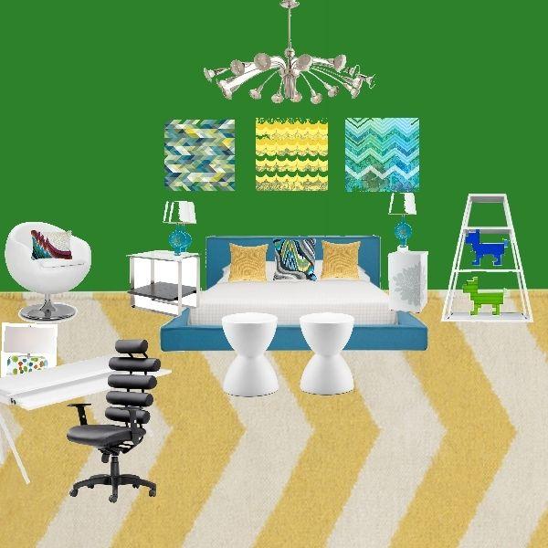 Modern Peacock Bedroom Design Board By Concept Candie Interiors E Design  Mood Board Interiors  