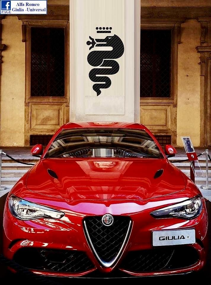 Kallistos Stelios Karalis || LUXURY Connoisseur || Alfa Romeo Giulia
