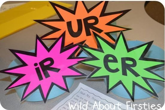 Wild About Firsties!: R-Controlled Vowels (and a freebie!)